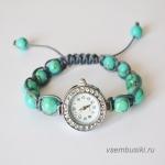 Примеры браслетов для часов. Мастер-класс.