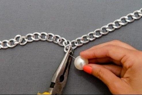Как сделать объемное колье своими руками