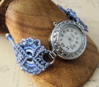 Ремешок для часов макраме своими руками 29