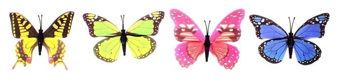Порхающая бабочка