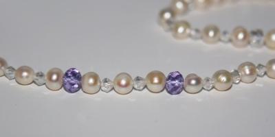 Мастер класс ожерелье из жемчуга: начинаем с простого!